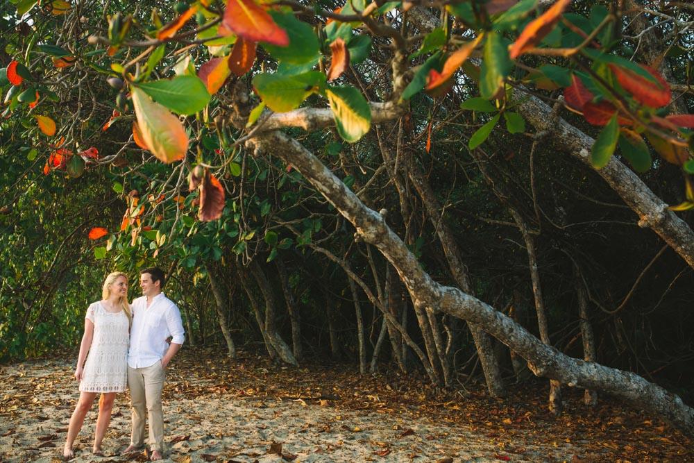 Beach Engagement Tamarindo Costa Rica