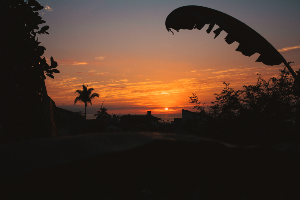 Sunset in Puerto Vallarta Mexico