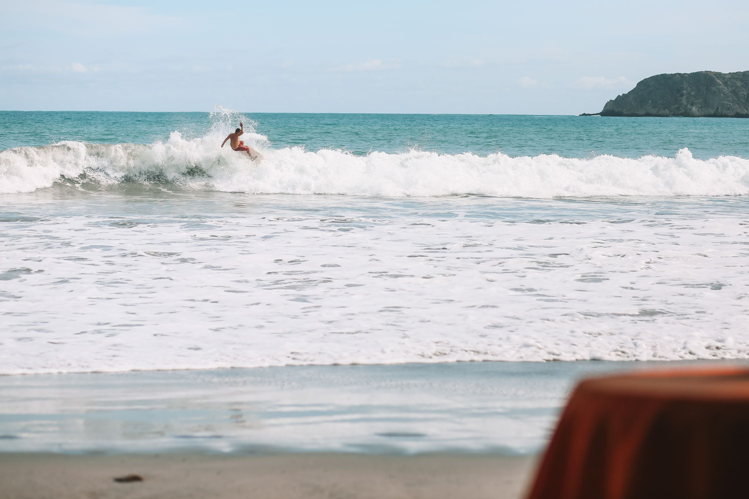 Surfer in Manuel Antonio