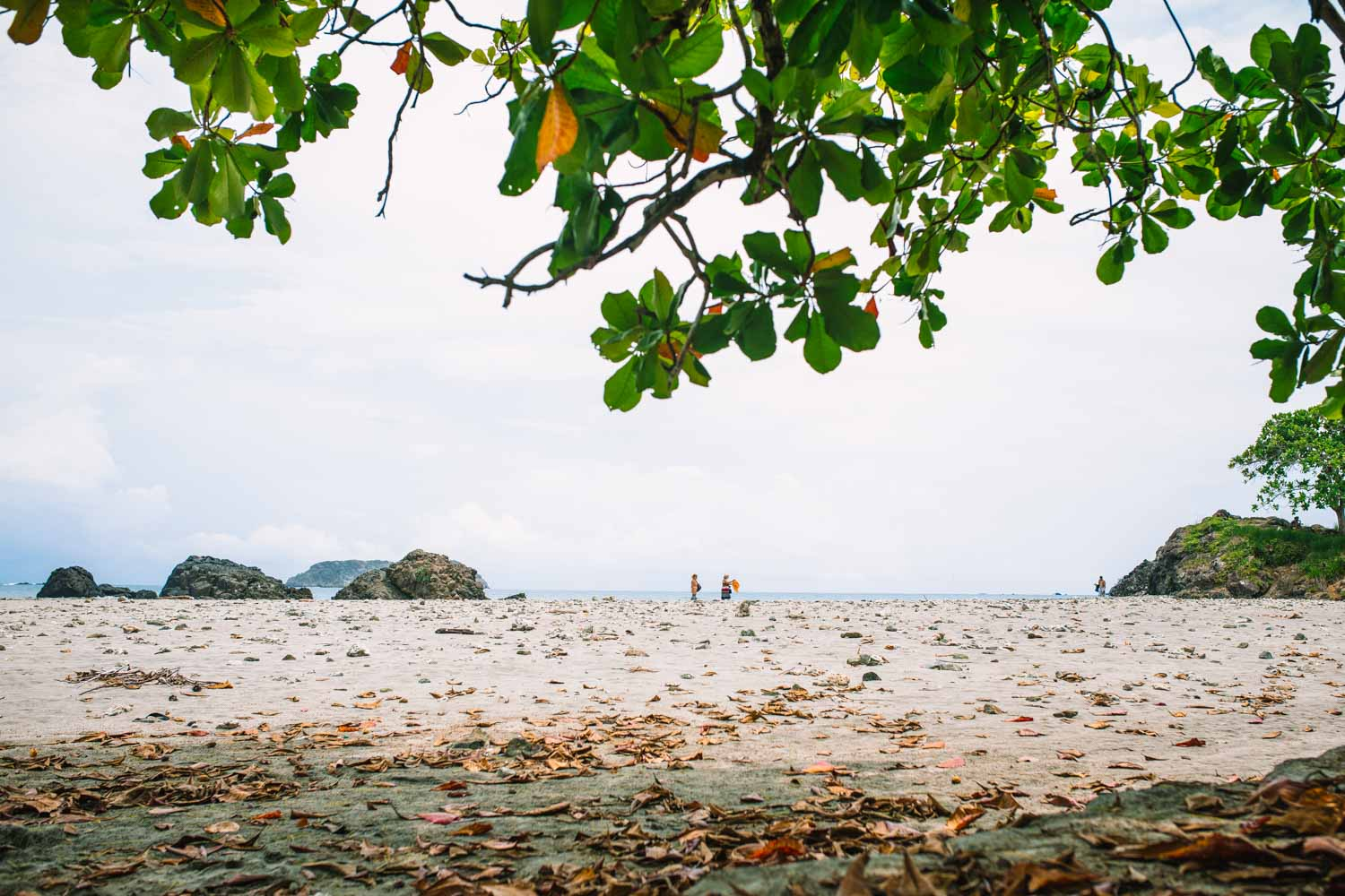 Beach in Manuel Antonio