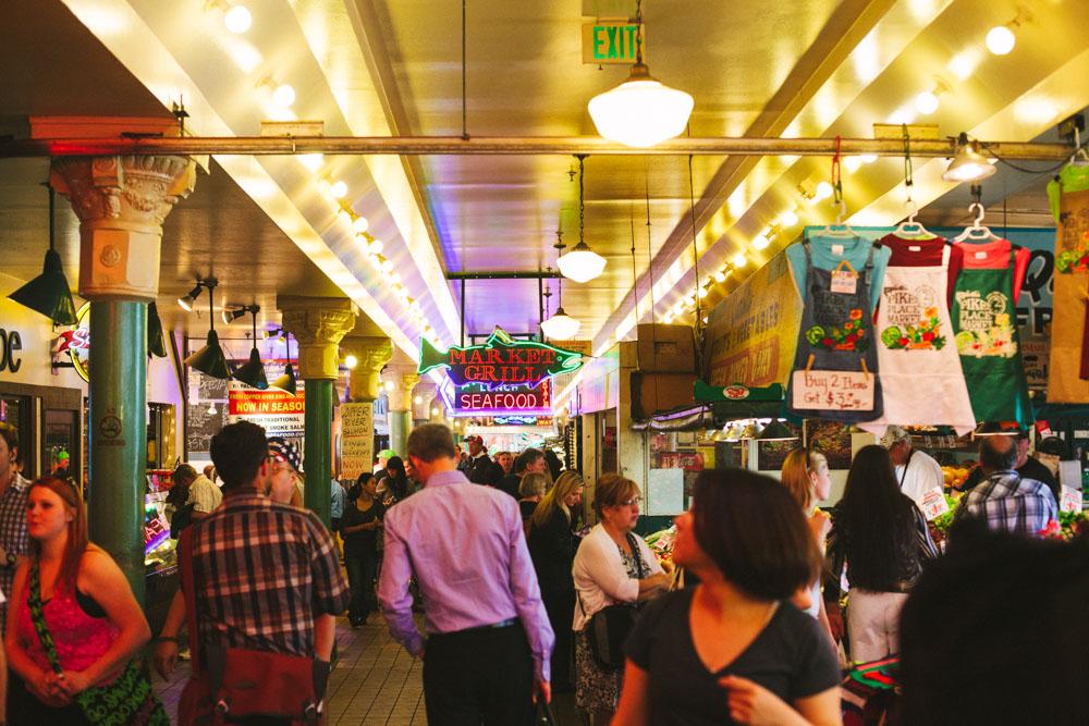 Public Market Seattle Washington
