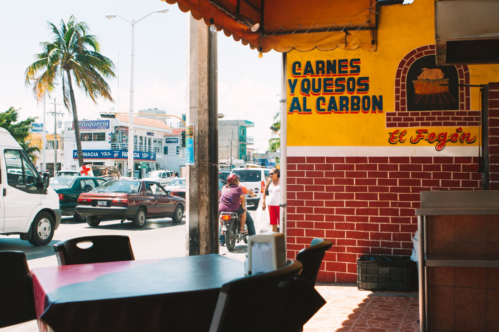 Downtown Playa Del Carmen Mexico Travel Photography