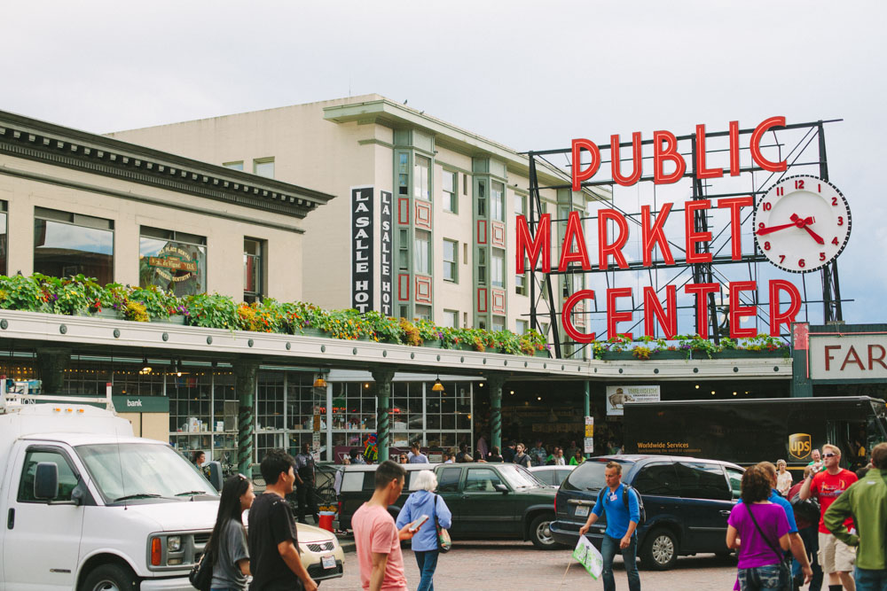 Public Market Seattle Washington