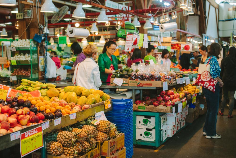 Granville Island Public Market Vancouver BC
