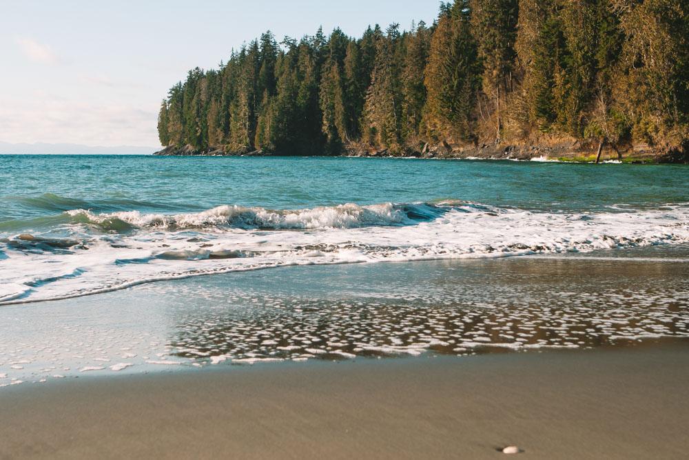 China Beach Juan de Fuca Vancouver Island BC