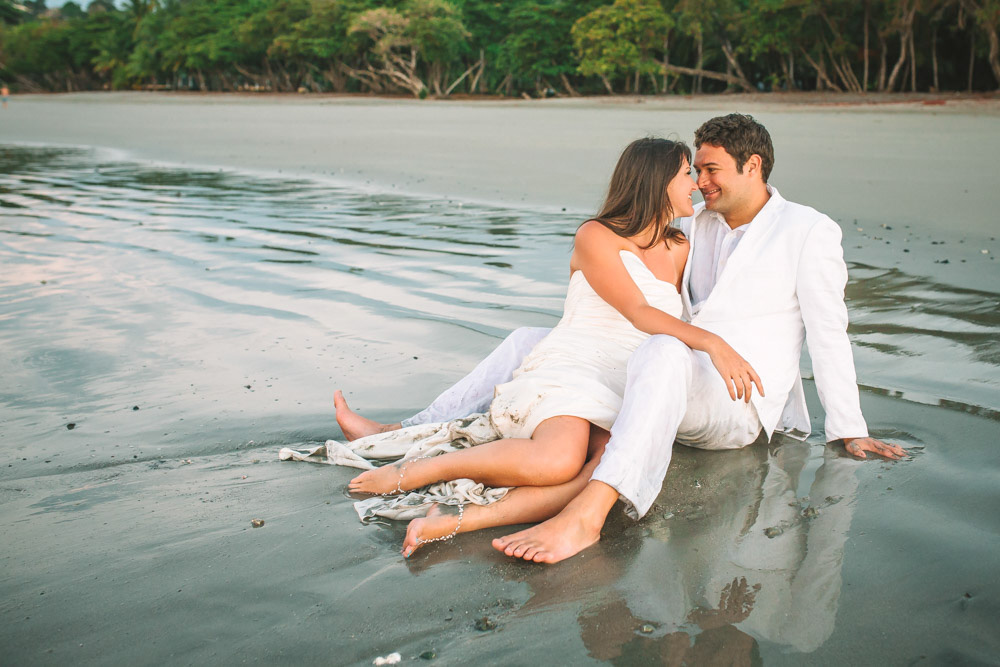 Tamarindo Costa Rica Trash The Dress Photography