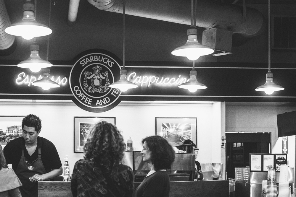 The First Starbucks Seattle Washington Travel Photography