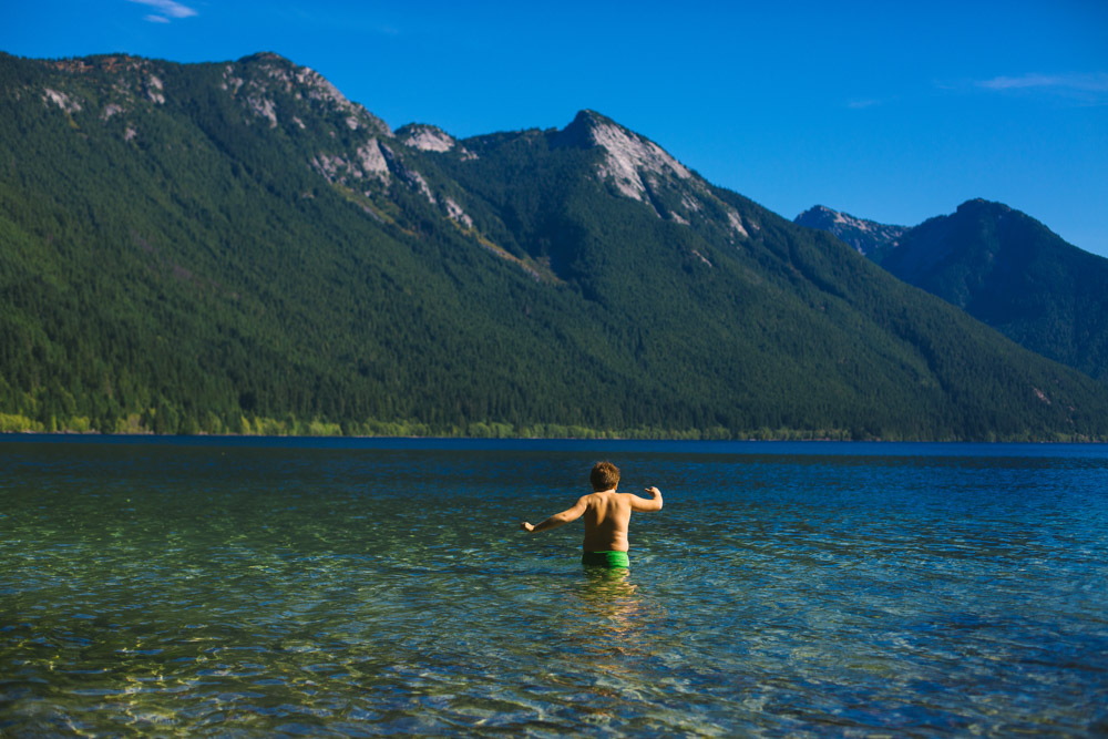 Chilliwack Lake Beach Photography