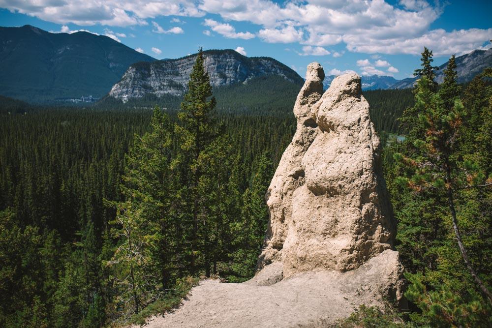 Hoodoos at Banff National Park
