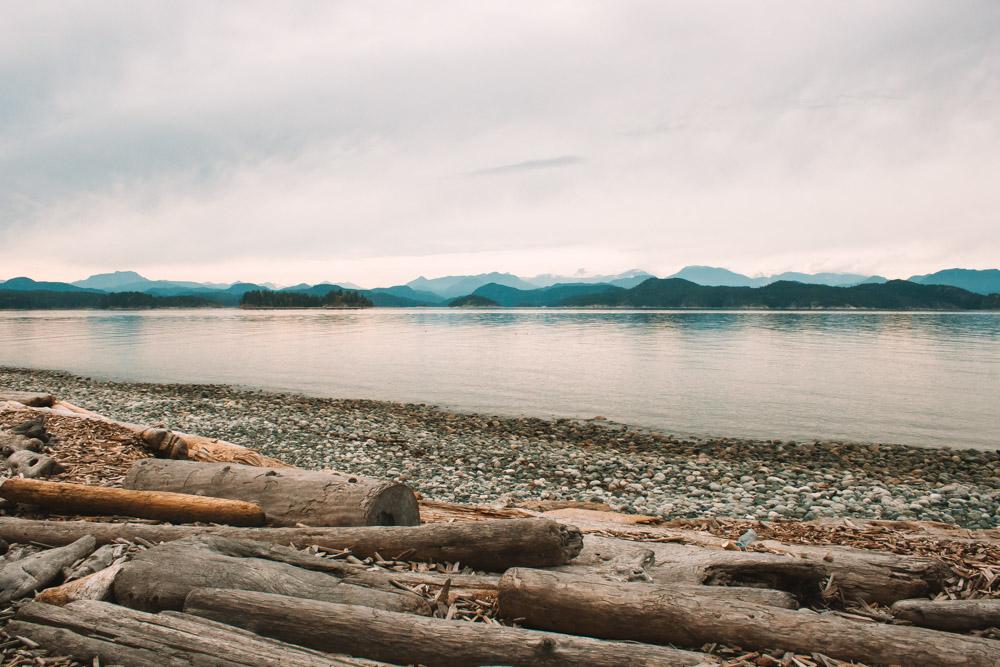 Rebecca Spit Beach Quadra Island British Columbia