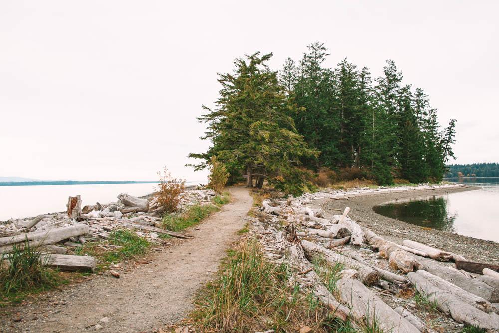 Rebecca Spit Quadra Island British Columbia