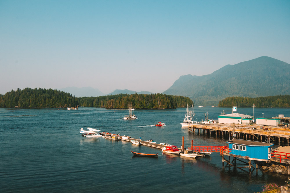 Harbour View in Tofino British Columbia