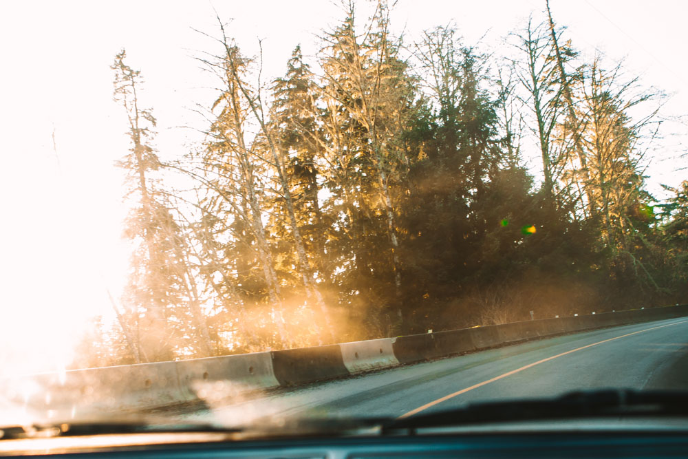 Drive to Port Renfrew British Columbia