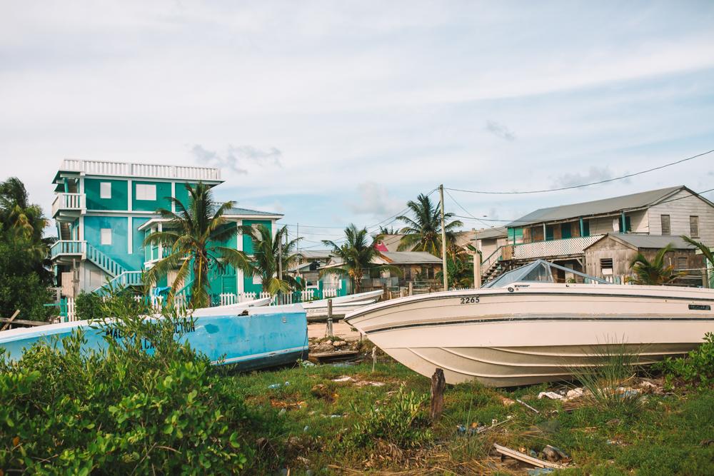 Suburb in San Pedro Belize
