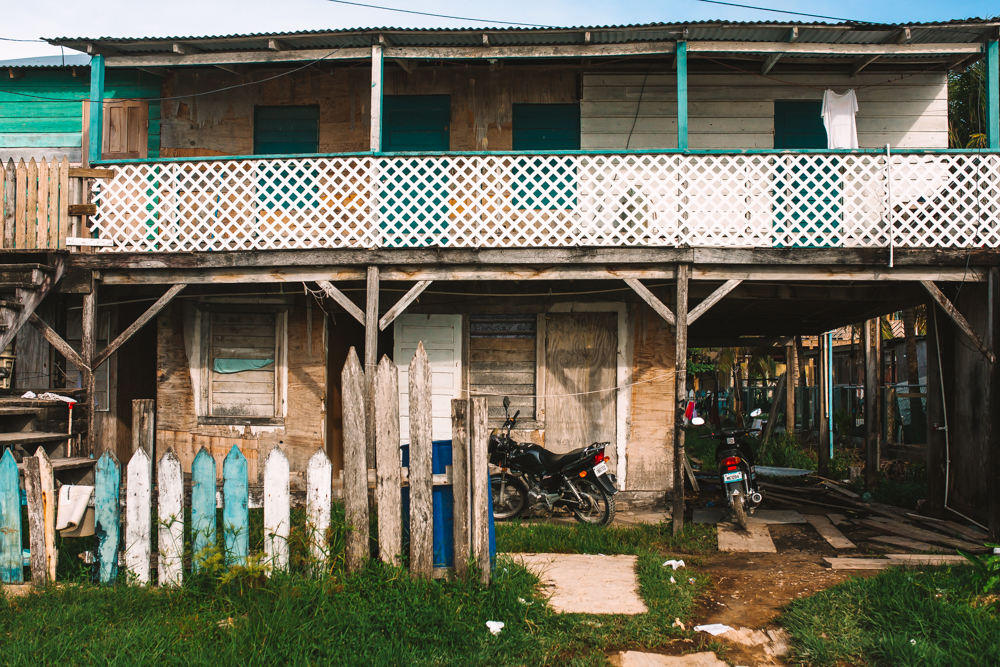 Suburb in San Pedro Belize