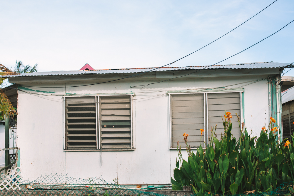 Home in San Pedro Belize