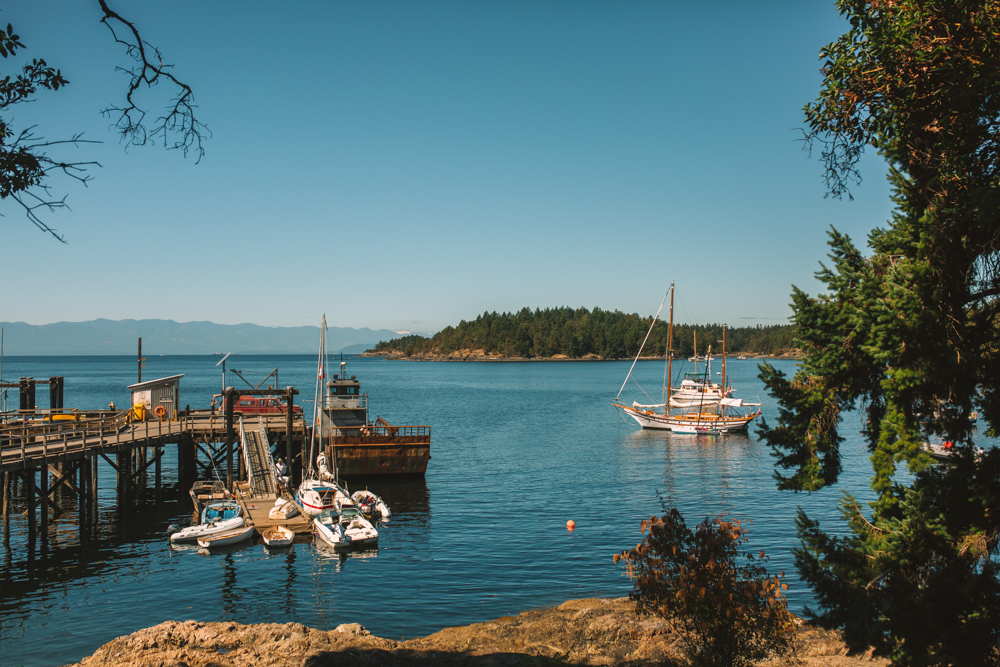 Lasqueti Island Harbour
