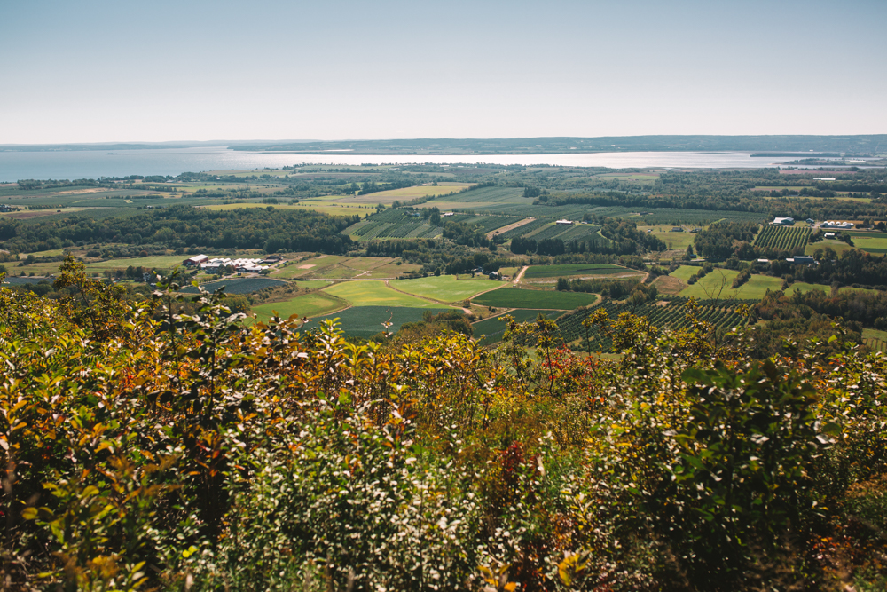 The Look Off in Annapolis Valley Nova Scotia
