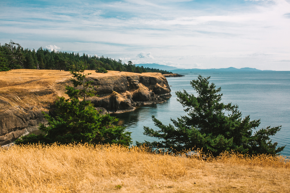 The Bluffs at Helliwell Provincial Park Hornby Island British Columbia Travel Photography