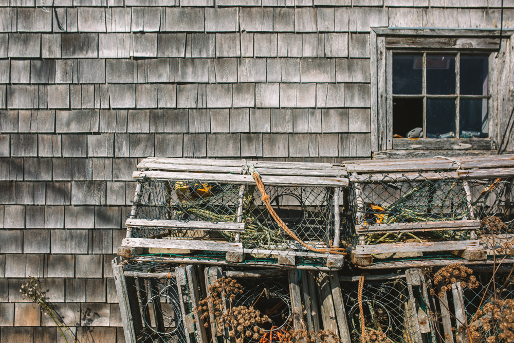 Lobster Traps Martime Travel Photography