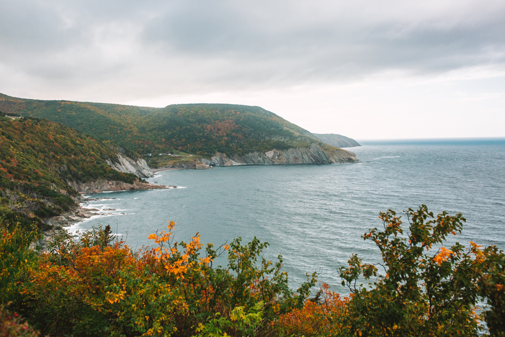 Meat Cove Drive Cape Breton Nova Scotia Travel Photography