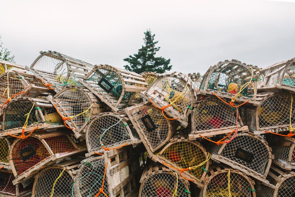 Lobster Traps Cape Breton