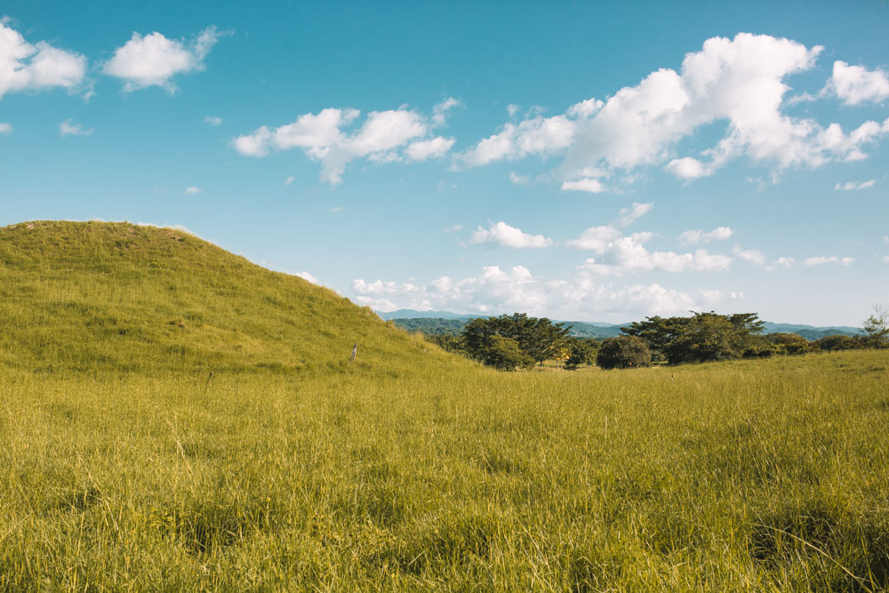 Hills in Guanacaste Costa Rica